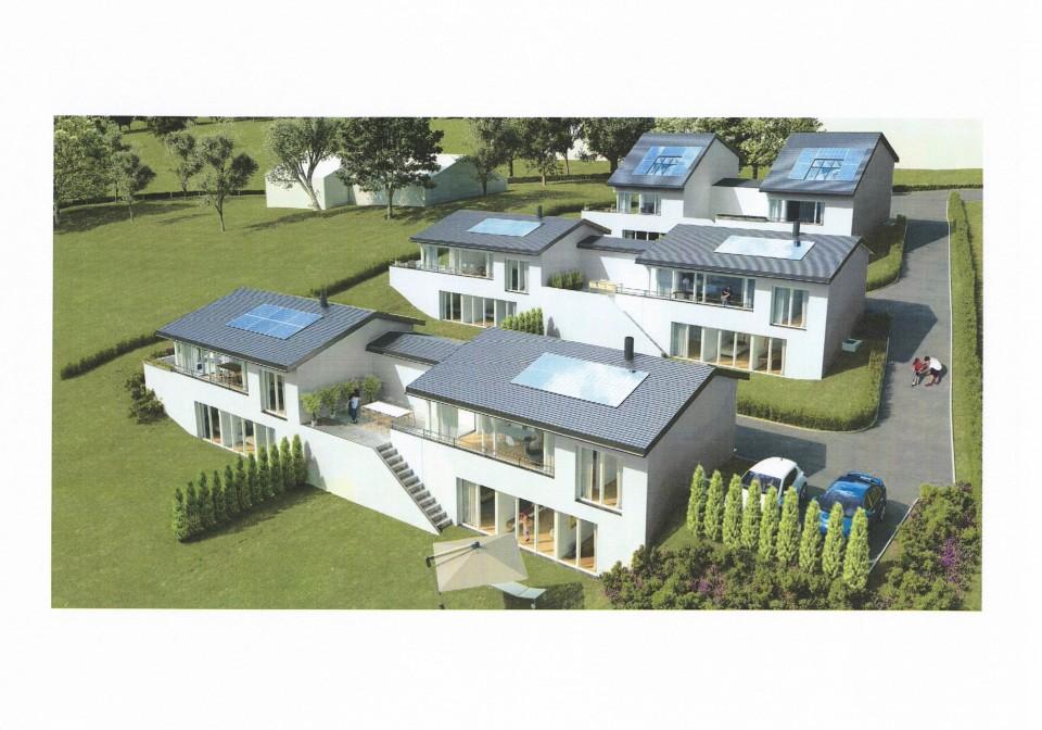 4 villas neuves, 4 chambres, lumineuses, fonctionnelles.