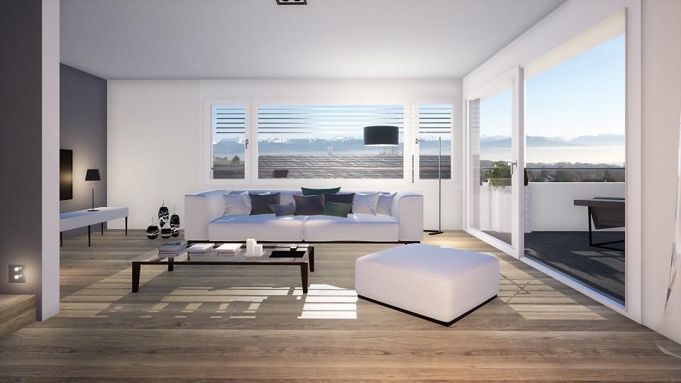 Villa neuve (C2), 4 chambres, lumineuses, vue, très calme