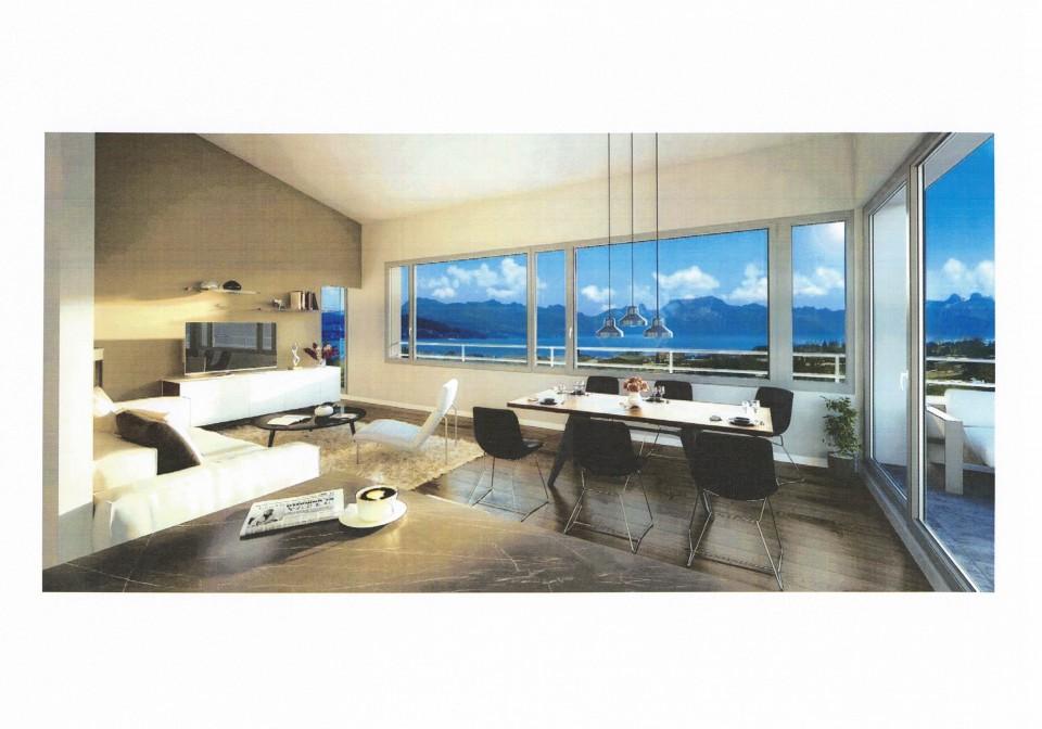 4 villas neuves, 4 chambres, lumineuses, vue, très calme