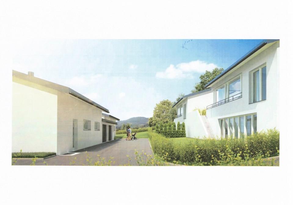 3 villas neuves, 4 chambres, lumineuses, vue, très calme