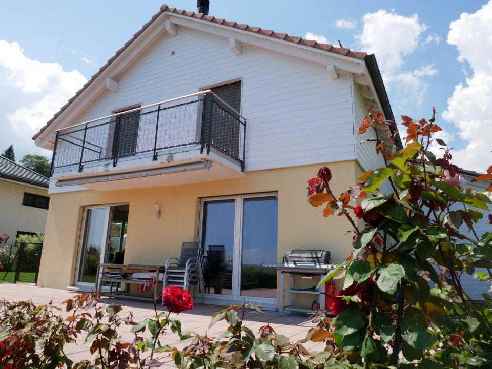 Villa individuelle, 4 chambres, vue, très calme